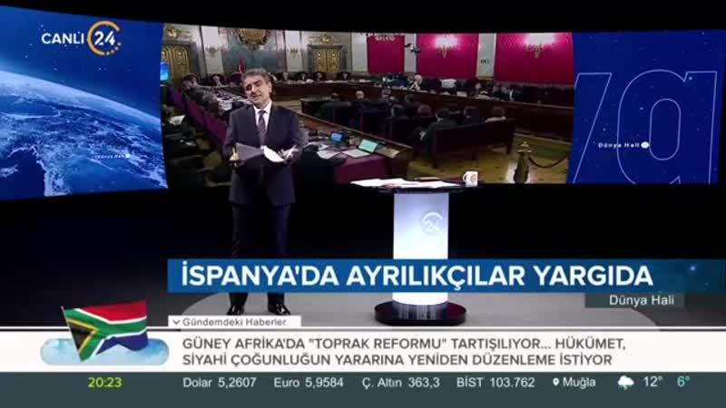 Dünya Hali - Selim Atalay 12.02.2019