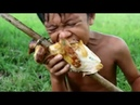 Awesome Wilderness Food: Cooking Tasteful Wild Chicken And Eating Delicious