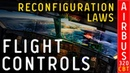 CBT - Airbus 320 - Flight controls. Reconfiguration laws