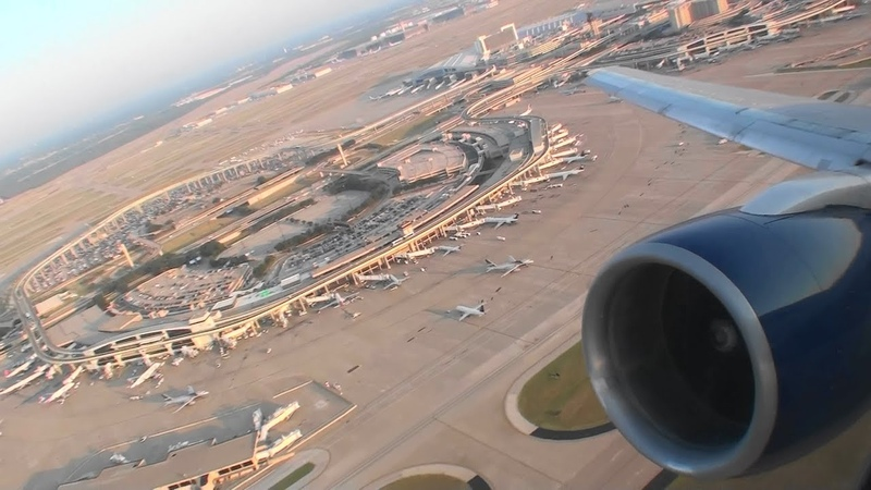 Gorgeous HD 757 Takeoff From Dallas-Fort Worth at Dawn On Delta