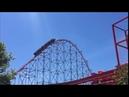 Whitney Houston Rides a Roller Coaster