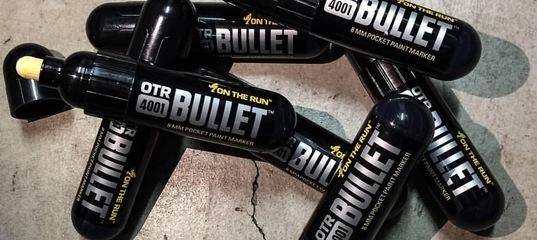 c5b4b7128 OTR.4001 Bullet Paint 8mm - черный карманный маркер от On The Run. spraytown .com.ua