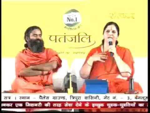 Anandmurti Gurumaa ji Swami Ramdev Ji at Patanjali Yogpeeth, Haridwar, Date- March 10,2016