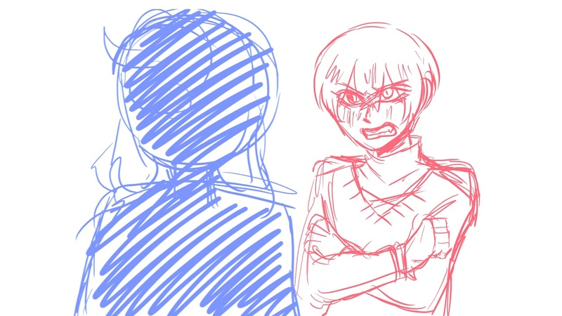 Evelyn Evelyn Hello Charlotte ( very rough) Animatic