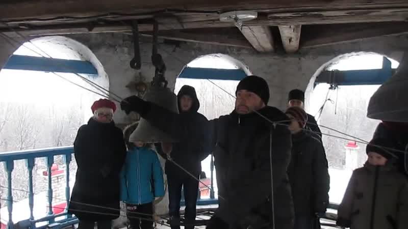 Колокольный звон 3. Звонарь Владимир Ломакин.