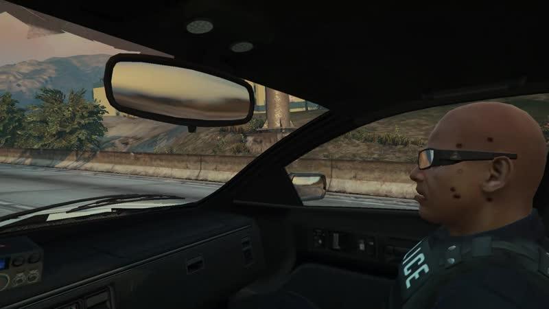 Как я украл полицейского в GTA V Часть 2 (Полное видео)
