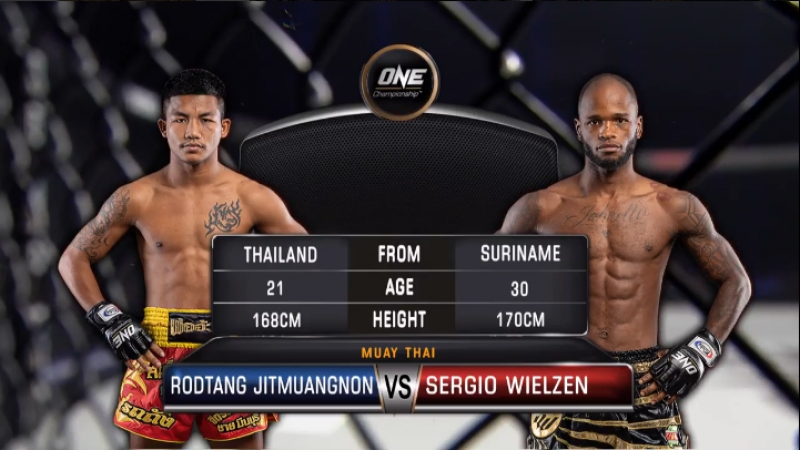 ONE: Conquest of Heroes | Rodtang Jitmuangnon vs. Sergio Wielzen | Muay Thai