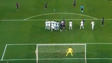 Lionel Messi Free kick goal - Barcelona 4-0 PSV Eindhoven