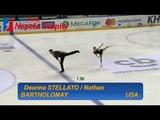 Deanna STELLATO &amp Nathan BARTHOLOMAY USA SP Ondrej Nepela Trophy 2018