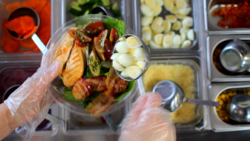 Собираем салат в SALAT