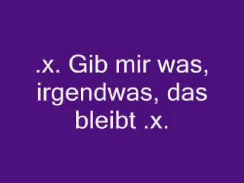 Silbermond 'Irgendwas bleibt' ~lyrics~