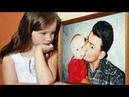 Армейские песни Дочка с папой говорит у портрета стоя