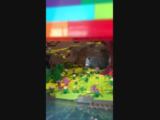 Zedd's New Art Installation at Home Has a Tiny Lego Club Inside.