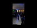 Фрагмент со свадебного танца в ресторане Миндаль