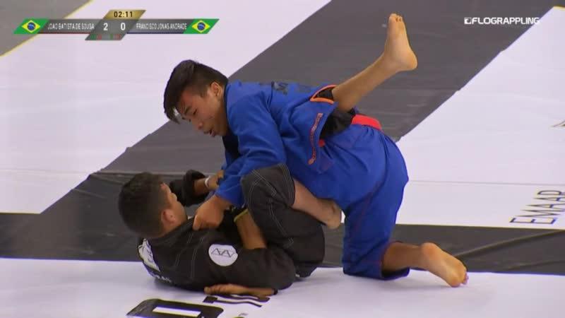 Gabriel Sousa vs Francisco Andrade 2019 Abu Dhabi Grand Slam Moscow