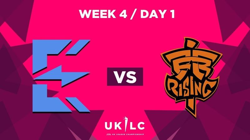 Enclave Gaming vs. Fnatic Rising   UK League Championship   Week 4 Day 1   Spring Split 2019