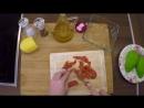 Салат из авокадо с Неркой холодного копчения от Оливы Фиш