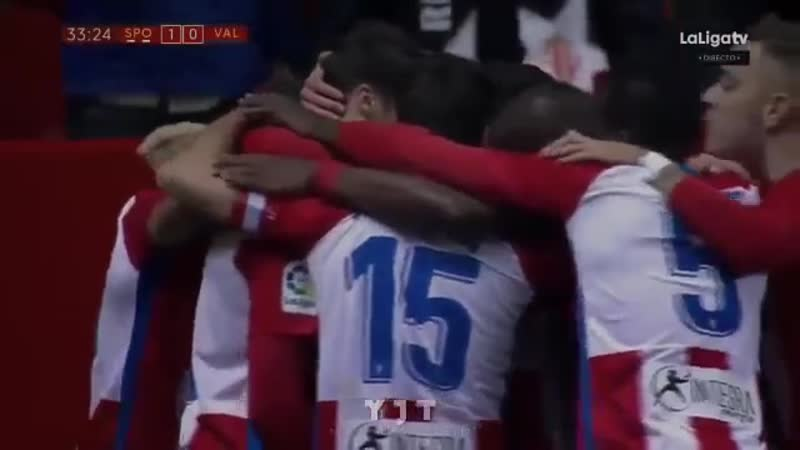 Спортинг 2 - 1 Валенсия Обзор матча Кубок Испании