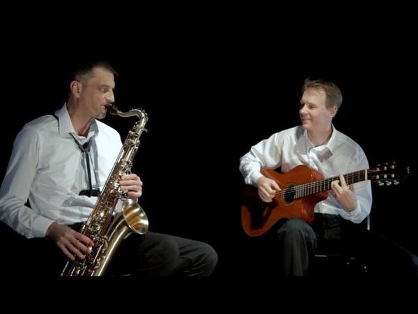 Дуэт Саксофон и Гитара - Промо-видео (Acoustic Duo - Saxophone and guitar - Promo video)