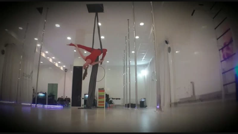 Sergeeva Nina Aerial Dance