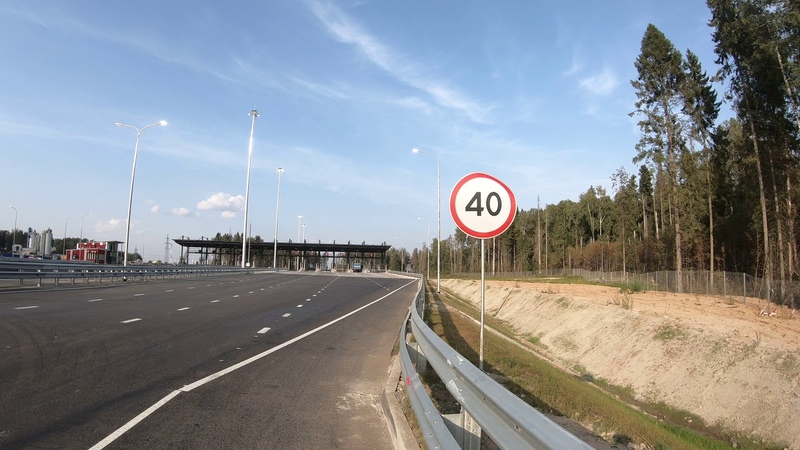 Пользуется ли спросом объездная дорога М11 в объезд Солнечногорска и Клина? 3 часть.