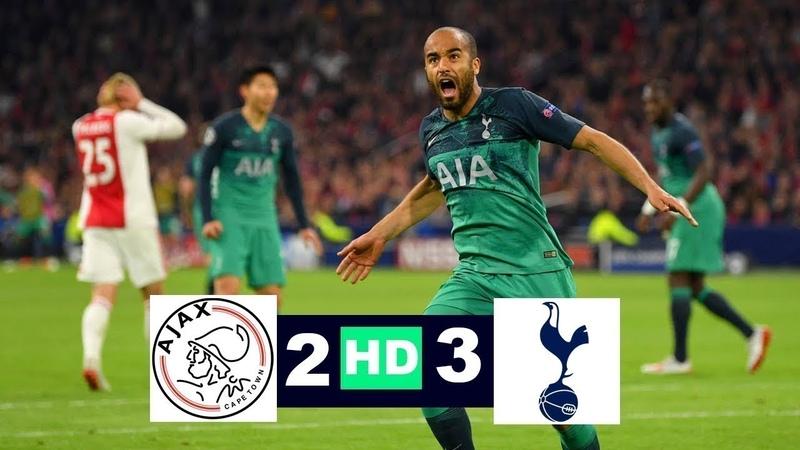 Ajax vs Tottenham Hotspur Highlights 2-3