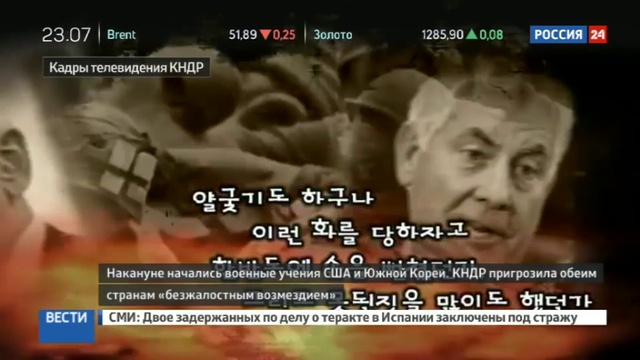 Новости на Россия 24 • На телевидении КНДР показали ядерный удар по США
