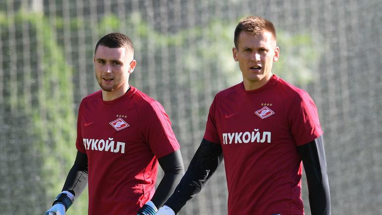 Александр Селихов и Артем Ребров
