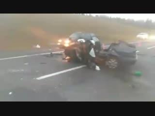 ДТП под Минском. Погибли четыре человека. 27 октября