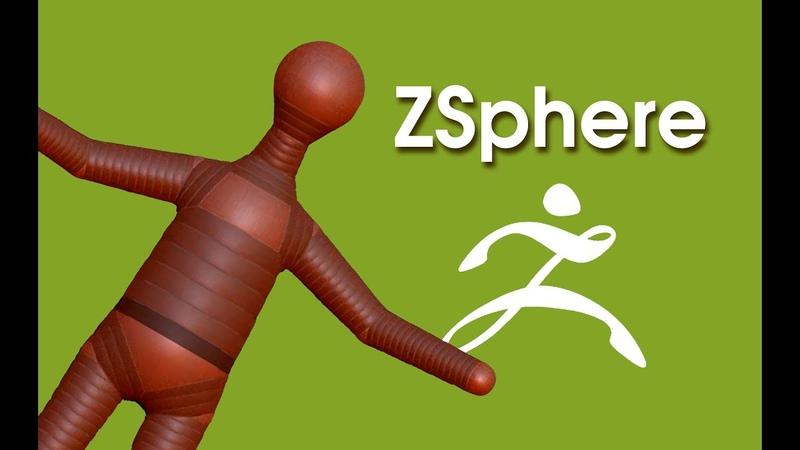 Как сделать базовый каркас с помощью ZSphere в программе ZBrush
