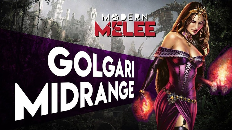 Golgari Midrange Modern Melee | Magic the Gathering