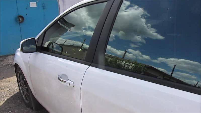 Ford Focus Без лобового стекла пленкой 10% San Tek INFINITY Лобовое стекло в aтермальную пленку 70% UV Sun Protection Maximum С