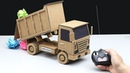 How to Make Amazing Dump Truck - Powered Dump Truck DIY