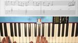 Knocking on the heaven's door 1st Slash's solo on piano