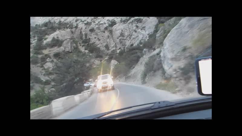 Дорога в Крым июнь 2019