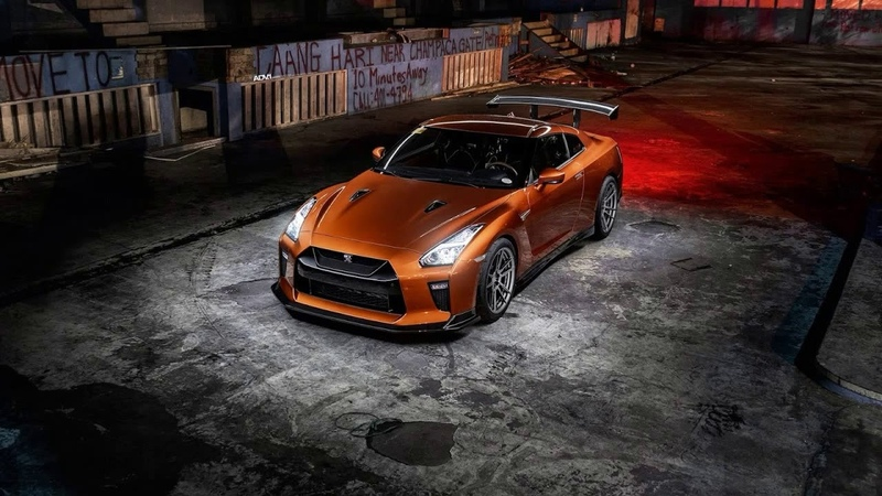 Картинка машина. GTR, Graphiry, Bronze, R35, Light, Nissan.