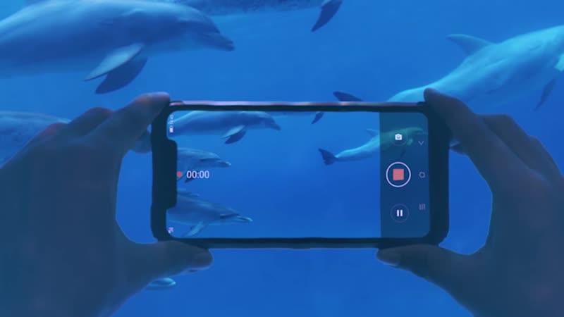 Ныряем с телефоном BV9600 pro