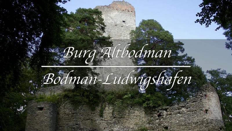 Burgruinen Deutschland - Burg Altbodman - Bodman-Ludwigshafen - Hegau - Baden-Württemberg