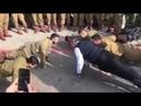 Wilson Witzel faz flexões ao lado de militares israelenses em Jerusalém