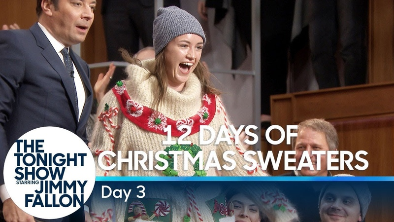 12 Days of Christmas Sweaters 2018 Day 3
