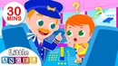 Baby Goes on an Airplane | Baby at the Airport, Flight | Kids Songs Nursery Rhymes by Little Angel