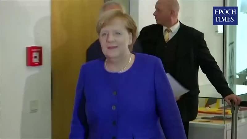 Maximalen Schaden anrichten Merkel will verbrannte Erde hinterlassen