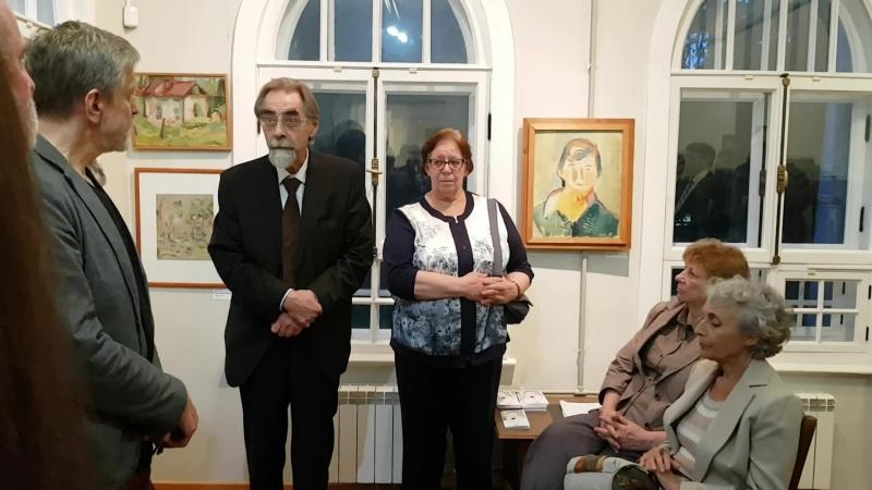 Открытие выставок Казанской М и След ГИНХУКа