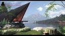 3D Studio Max Speed modeling Lake house