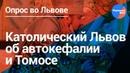 Львов высказал мнение о Томосе и автокефалии