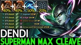 Dendi [Phantom Assassin] Superman Max Cleave Build WTF Gameplay 7.19 Dota 2