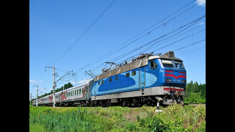 Скорый поезд №005 Москва - Киев, участок Брянск - Конотоп