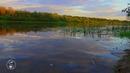 Волшебный пейзаж. Вечер, смеркалось, река, на берегу. Музыка, природа, красивое видео, релакс,