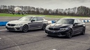 BMW M5 Competition vs BMW M5 by DMS Drag Races Top Gear