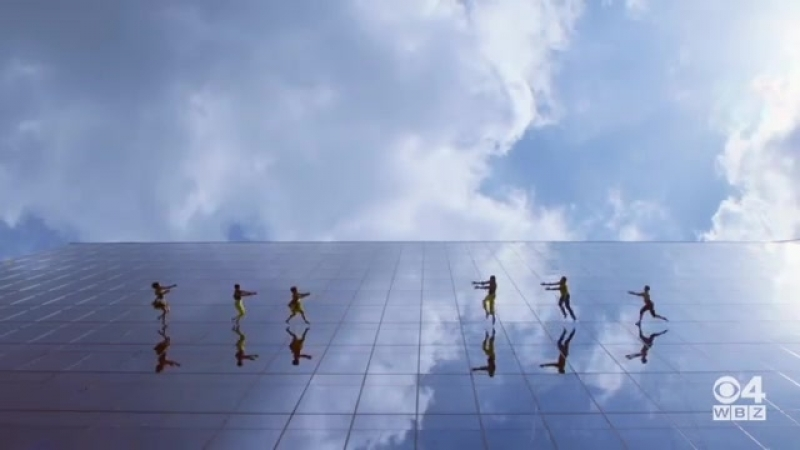 Вертикальный танец @bandalooping
